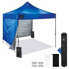 Shax 6051 Single Blue Heavy-Duty Pop-Up Tent Kit - 10ft x 10ft