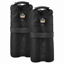 Shax 6094 One Size Black Tent Weight Bags - Set of 2