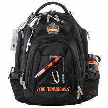 Arsenal 5144  Black Mobile Office Backpack