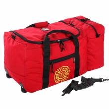 Arsenal 5005W  Red Wheeled Fire & Rescue Gear Bag