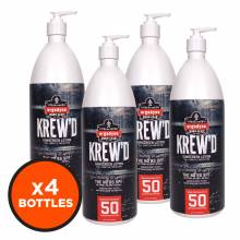 Krewd 6355 12-pack  32oz - SPF 50 Sunscreen Lotion