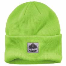 N-Ferno 6806  Lime 6806 Cuffed Rib Knit Beanie Hat