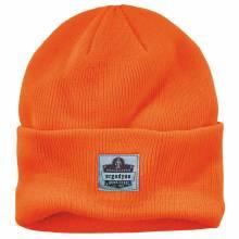 N-Ferno 6806  Orange 6806 Cuffed Rib Knit Beanie Hat