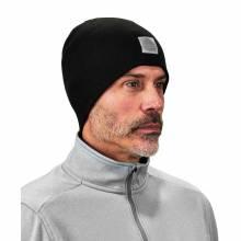 N-Ferno 6812  Black Ribbed Knit Beanie