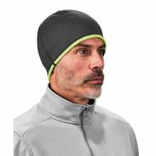N-Ferno 6816  Lime & Gray Reversible Knit Cap