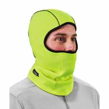 N-Ferno 6821  Lime Fleece Balaclava Face Mask