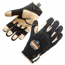 ProFlex 710LTR L Black Heavy-Duty Leather-Reinforced Gloves