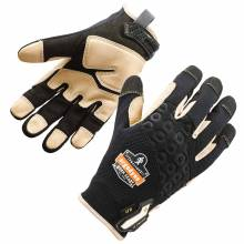 ProFlex 710LTR XL Black Heavy-Duty Leather-Reinforced Gloves