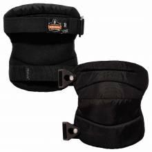ProFlex 230  Black Wide Soft Cap Knee Pads - Buckle