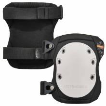 ProFlex 315  White Cap Long Textured Hard Cap Knee Pads - Buckle