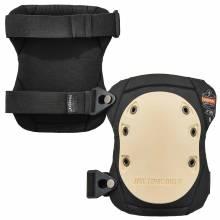 ProFlex 325  Tan Cap Non-Marring Rubber Cap Knee Pads - Buckle