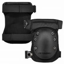 ProFlex 435  Black Cap Hinged Rubber Cap Gel Knee Pad w/ Buckles