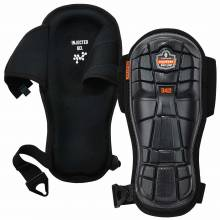 ProFlex 342  Black Extra Long Cap Injected Gel Knee Pads