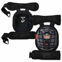 ProFlex 344  Black Short Cap Injected Gel Knee Pads w/ Comfort Straps