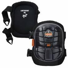 ProFlex 347  Black Long Cap Lightweight Gel Knee Pads
