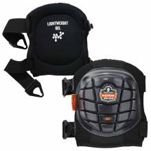ProFlex 357  Black Short Cap Lightweight Gel Knee Pads