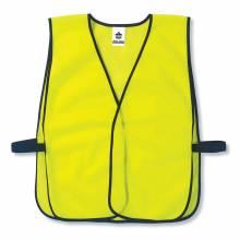GloWear 8010HL  Lime Non-Certified Economy Vest