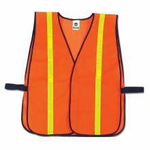GloWear 8040HL  Orange Non-Certified Hi-Gloss Vest
