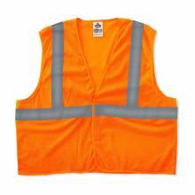GloWear 8205HL XS Orange Type R Class 2 Super Econo Mesh Vest