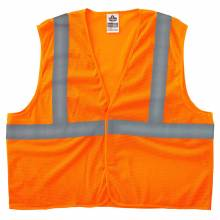 GloWear 8205HL 4XL/5XL Orange Type R Class 2 Super Econo Mesh Vest