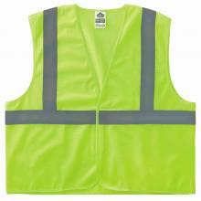 GloWear 8205HL L/XL Lime Type R Class 2 Super Econo Mesh Vest