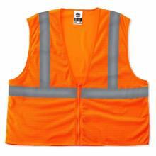 GloWear 8205Z 2XL/3XL Orange Type R Class 2 Super Econo Mesh Vest