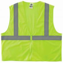 GloWear 8205Z L/XL Lime Type R Class 2 Super Econo Mesh Vest