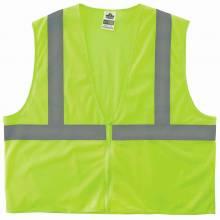 GloWear 8205Z 2XL/3XL Lime Type R Class 2 Super Econo Mesh Vest