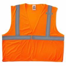 GloWear 8210HL XS Lime Type R Class 2 Economy Mesh Vest