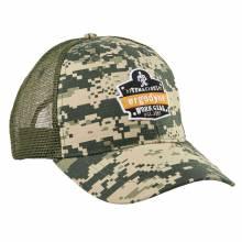 Ergodyne SNAP-CAP  Camo Master Brand Snapback Hat with Mesh Back