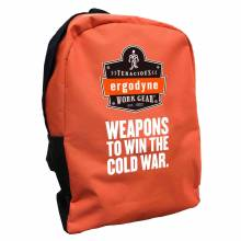 Brand Premium BPAK-BP  Cold War Orange Backpack