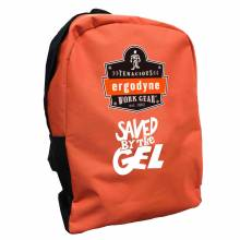 Brand Premium BPAK-BP  Saved by the Gel Orange Backpack