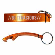 Brand Premium BET  Orange Bottle Opener Keychain