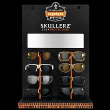 Ergodyne SKLRZEYE8  Black Eyewear Corrugated Waterfall Display 8 Pair