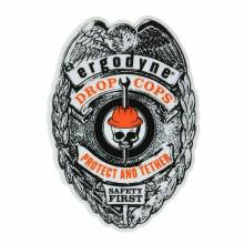 Brand Premium STICKER  Drop Cop Badge Stickers