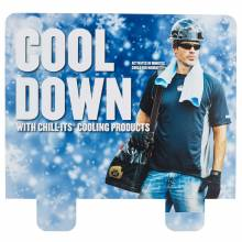 Ergodyne HTCHHDR  Cool Down Hutch Display Header Card