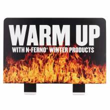 Ergodyne HTCHHDR  Warm Up Hutch Display Header Card