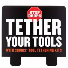 Ergodyne HTCHHDR  Tool Tether Hutch Display Header Card