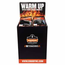 Ergodyne DUMPKIT  Warm Up Corrugated Dump Bin Display