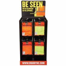 Ergodyne HUTCHKIT  Hi-Vis Corrugated Hutch Display