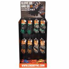 Ergodyne HUTCHKIT  Gloves Corrugated Hutch Display