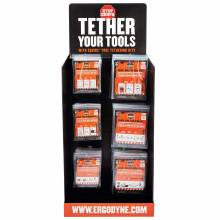 Ergodyne HUTCHKIT  Tool Tether Corrugated Hutch Display