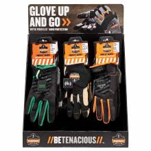 Ergodyne CTPLGKIT  Trades Gloves Large Corrugated Countertop Display