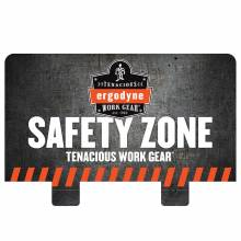 Ergodyne HTCHHDR  Safety Zone Hutch Display Header Card