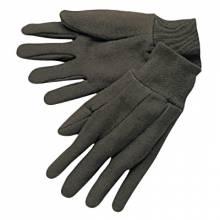 Memphis Glove 7100 Brown Jersey Clute Pattern Knit Wrist (1 PR)