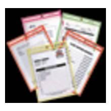 C-Line Products Inc. 43910 Neon Shop Ticket Holderasst 5/Clr Clr 9X12 25/B