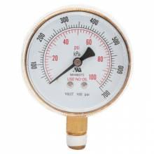 Best Welds B25100 Bw 2-1/2X100 Brass Replacement Gauge
