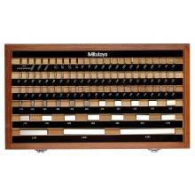 Mitutoyo 516-902-26 Be-81-0A/A Rectangular Gage Block Set Grade 0