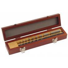 Mitutoyo 516-935-26 Be1-9N-1A/A Micrometer Inspection Gage Block Set