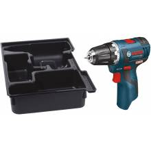 """BOSCH PS32BN 12V Max Brushless 3/8"""" Drill Driver Bare Tool w/ Insert Tray for L-Boxx1"""